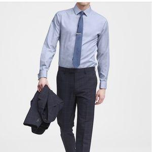 Banana Republic Slim-Fit Men Dress Shirt blue Sz M